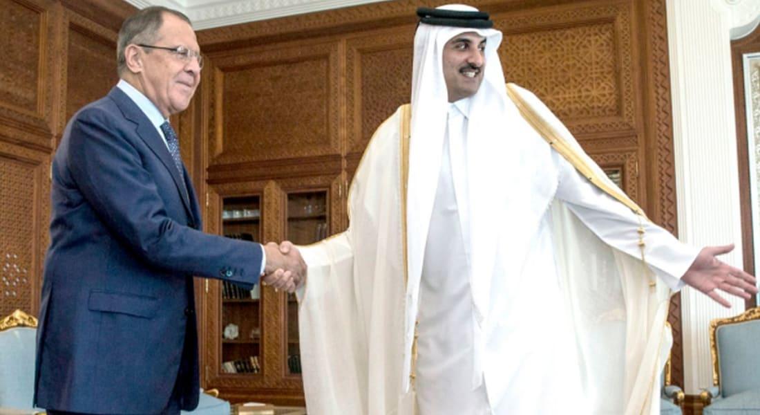 لافروف: أمير قطر عازم على تسوية كافة قضايا المنطقة.. وسفير روسيا: الدوحة تنظر لنا كصديق موثوق به