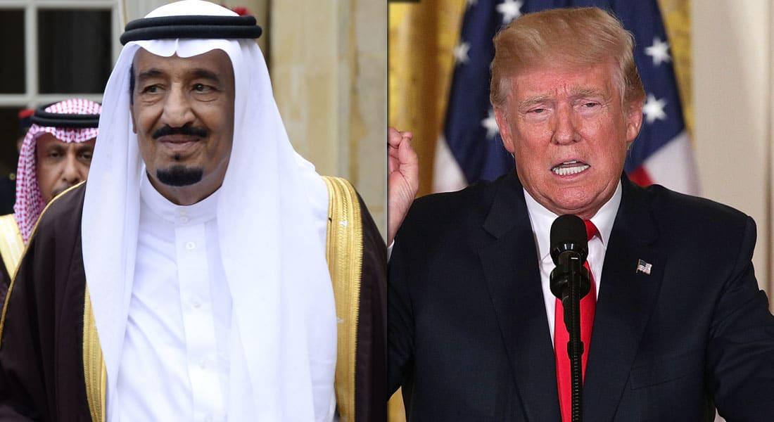 ترامب في اتصال مع الملك سلمان: يجب التوصل لحل قريب في أزمة قطر