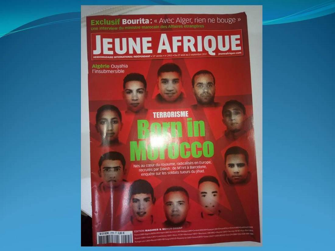 """الرباط ترّد على غلاف """"الإرهاب وُلد في المغرب"""": عمل مستفز وغير مقبول"""