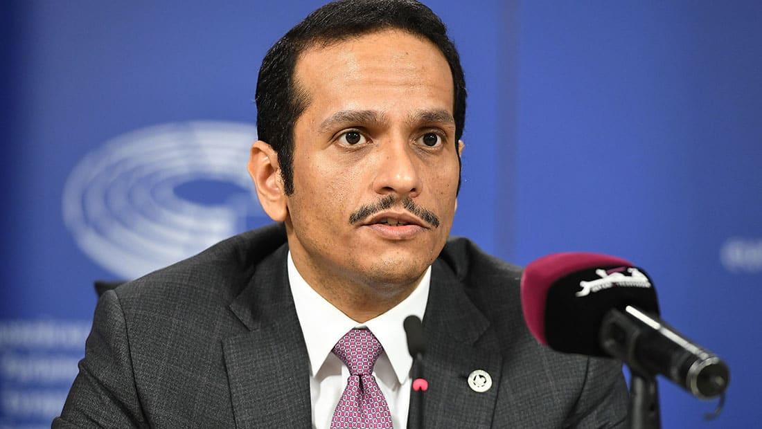 """وزير خارجية قطر: الأزمة الخليجية مفتعلة.. ودول """"الحصار"""" وصلت إلى اليأس"""