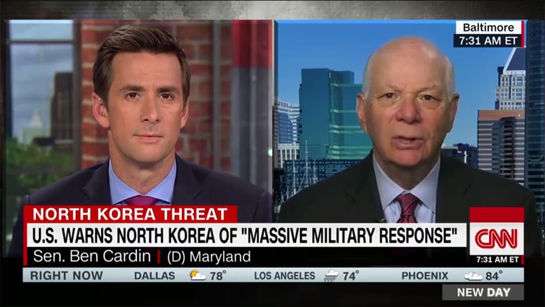 سيناتور أمريكي لـCNN: الخيارات العسكرية ضد كوريا الشمالية محدودة
