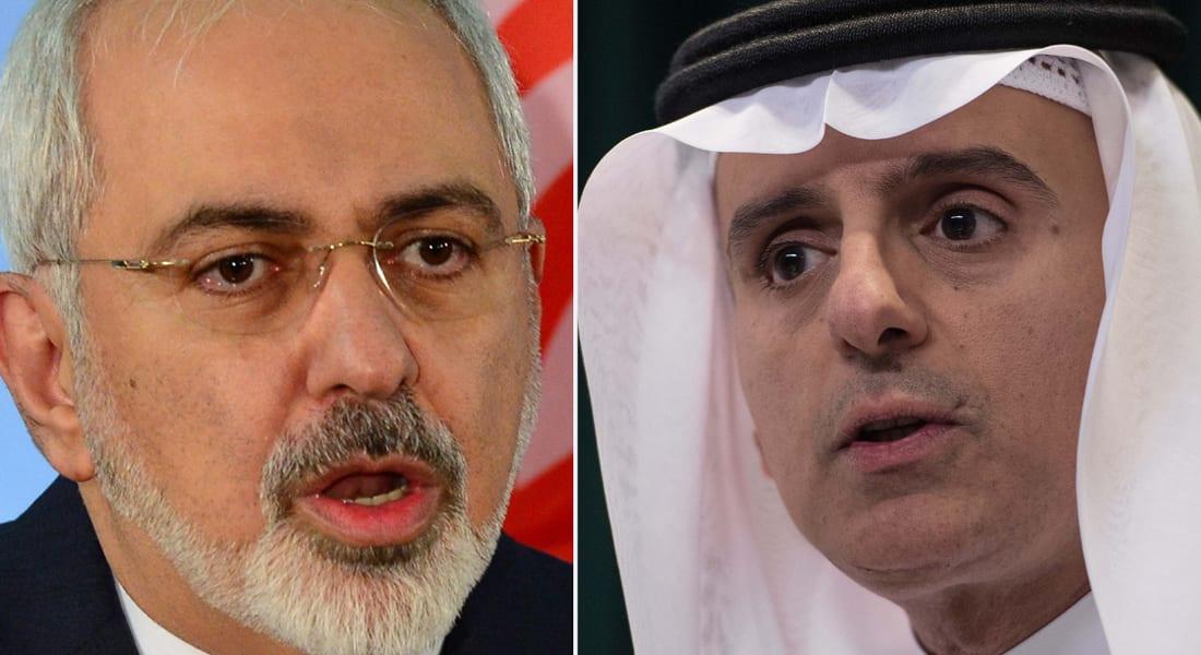"""الجبير: تصريحات ظريف عن تقارب بين إيران والسعودية """"مثيرة للسخرية"""""""