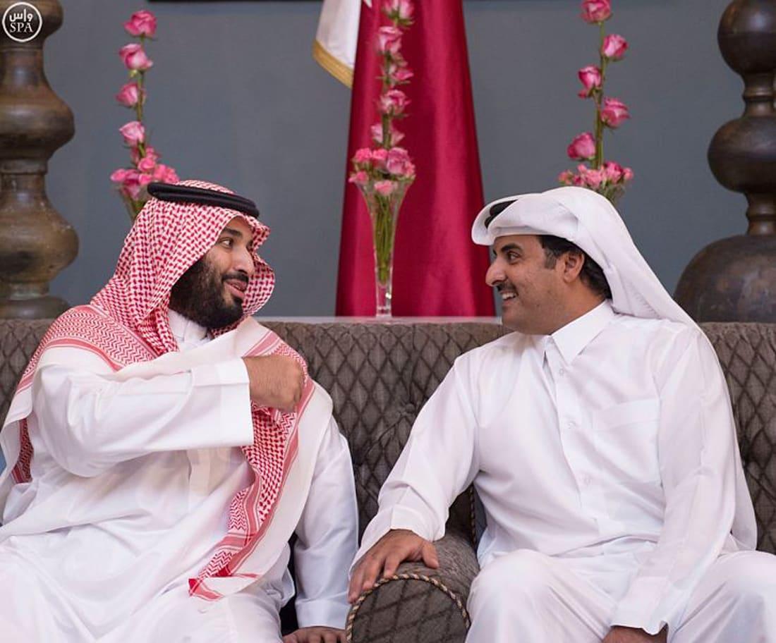 السعودية تقرر تعطيل أي تواصل مع قطر بعد اتصال تميم بن حمد ومحمد بن سلمان
