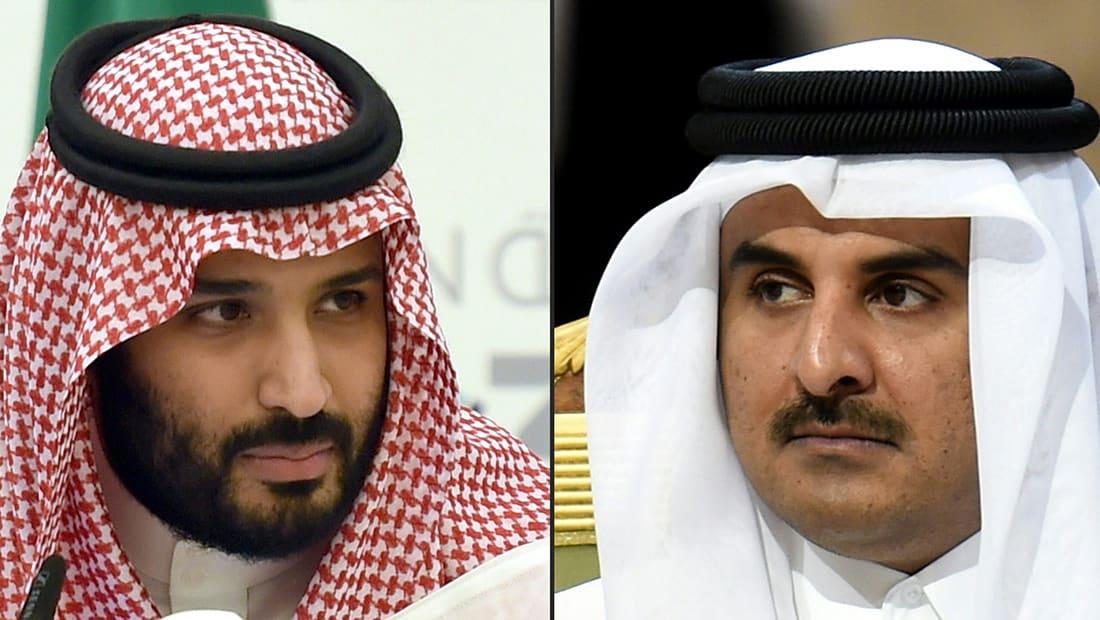 روايتان حول الاتصال بين محمد بن سلمان وتميم بن حمد