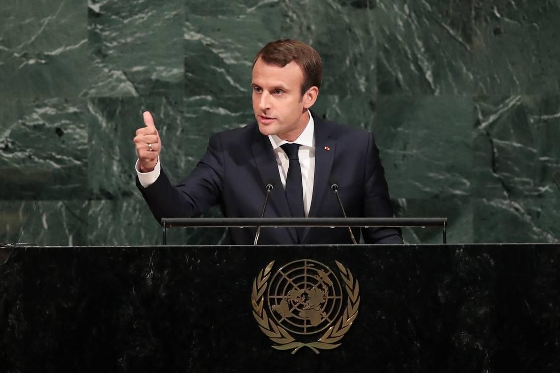 ماكرون: تطهير عرقي يحدث في بورما.. وبشار الأسد مجرم