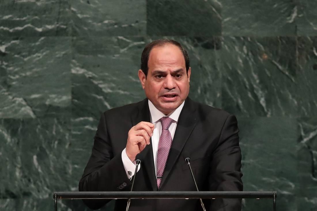 السيسي من مقرّ UN: أدعو الشعب الفلسطيني لقبول التعايش مع الإسرائيليين في أمان