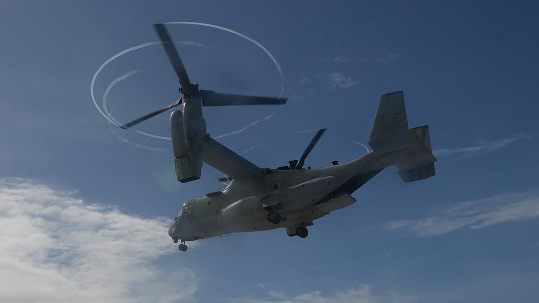 تحطم طائرة عسكرية أمريكية في سوريا
