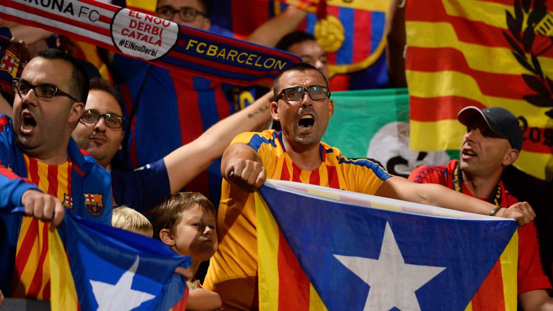 أين سيلعب برشلونة في حال انفصال كتالونيا عن إسبانيا؟