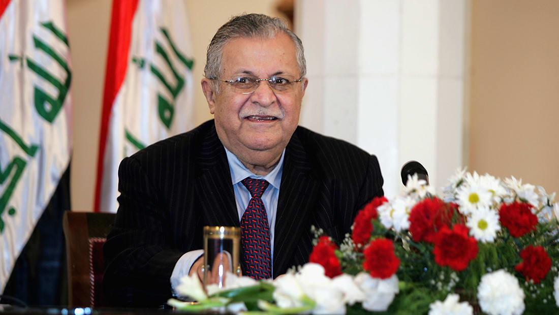 وفاة الرئيس العراقي الأسبق جلال طالباني