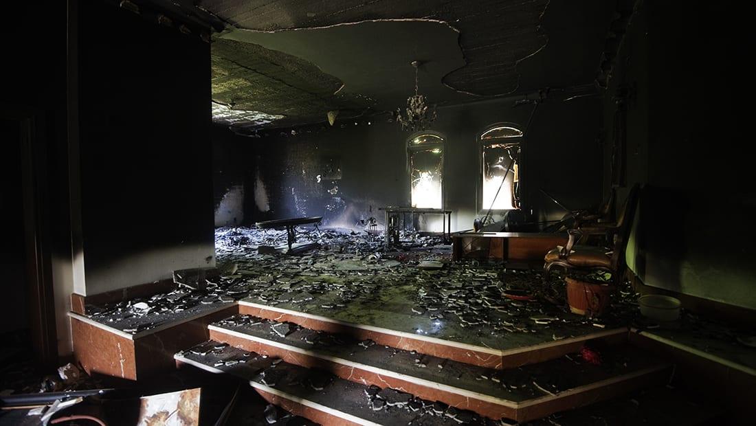الليبي أبوختالة يواجه 18 تهمة بقضية مهاجمة البعثة الأمريكية في بنغازي