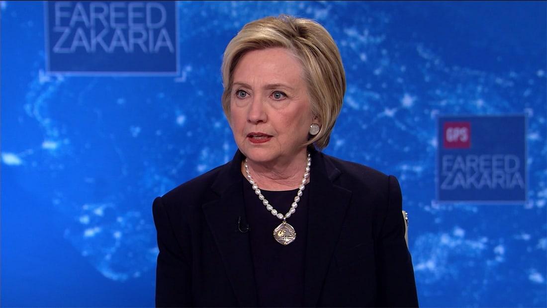 """هيلاري كلينتون لـCNN: سحب الثقة بـ""""الاتفاق النووي"""" يعطي إيران أفضلية"""