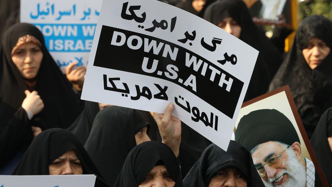 """كامليا انتخابي فرد تكتب لـCNN: شعار """"الموت لأمريكا"""" الإيراني هو المشكلة الحقيقية وليس سلوك إيران"""