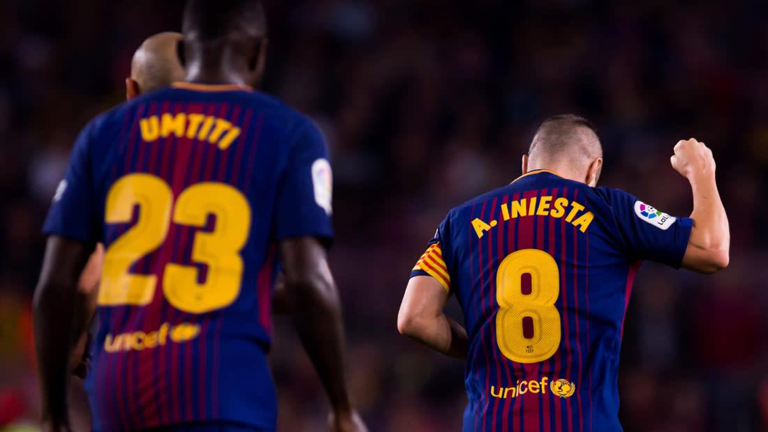 """برشلونة يستعيد نغمة الانتصارات في """"الليغا"""" ويهزم ملقا بثنائية"""