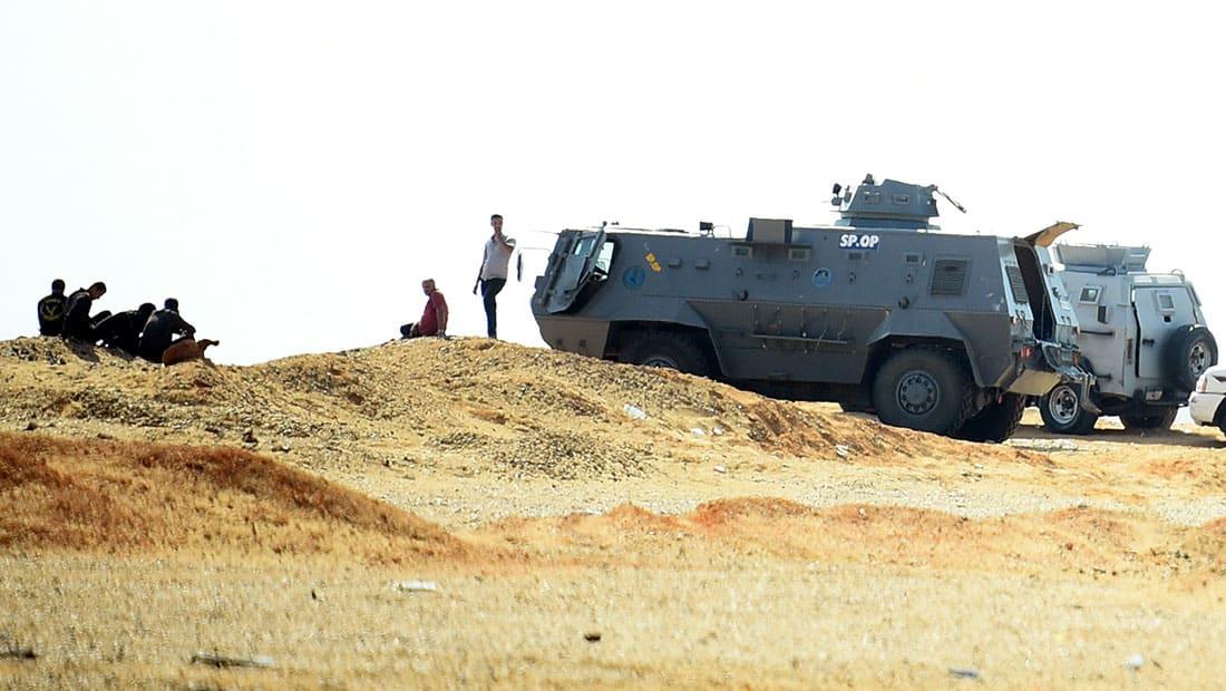 الداخلية المصرية: 13 جثة بعد استهداف وكر للإرهابيين بطريق أسيوط-الخارجة