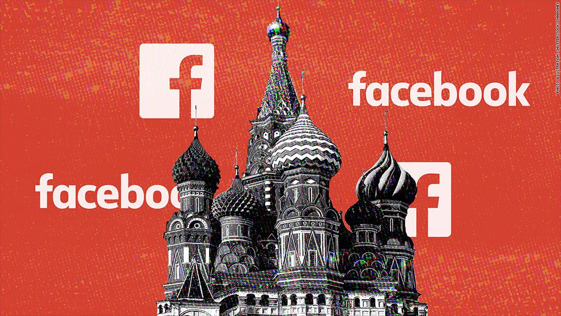وصول إعلانات فيسبوك المرتبطة بروسيا لـ 126 مليوناً