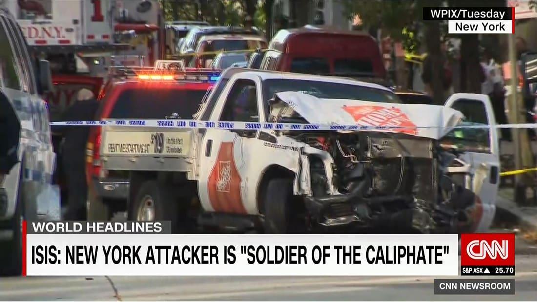"""داعش يتبنى هجوم نيويورك: منفذه جندي بـ""""دولة الخلافة"""" في أمريكا"""