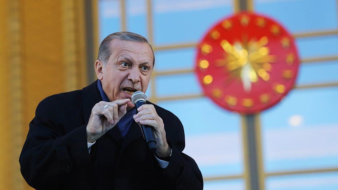 أردوغان: سنحيّد الإرهابيين بالعراق وسوريا ولسنا مضطرين لأخذ إذن من أحد