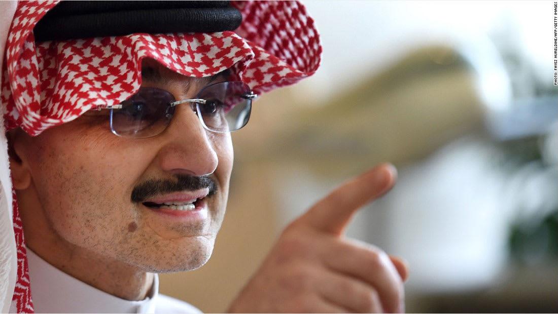 ما قيمة خسائر الأمير السعودي الوليد بن طلال جراء توقيفه؟