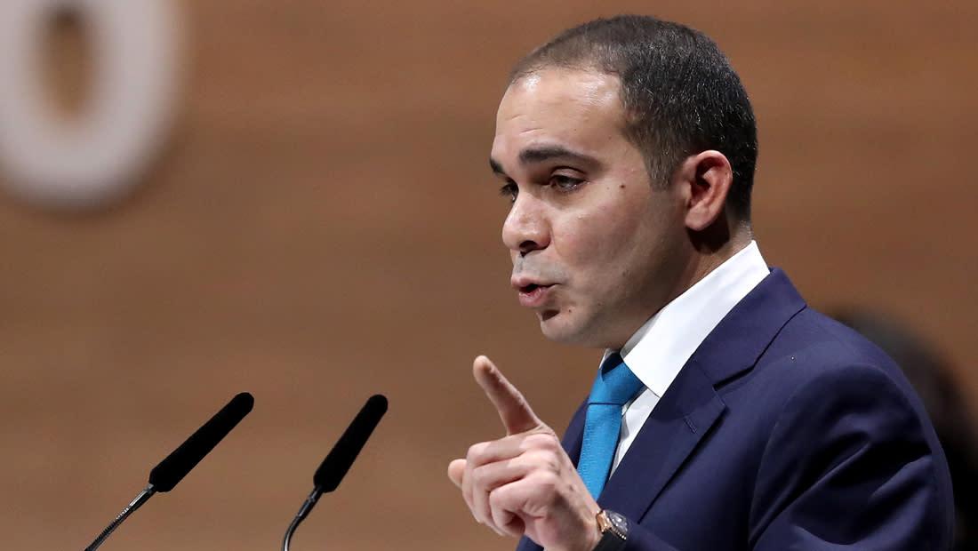 الأمير علي بن الحسين يوجه رسالة للاعبي المنتخب الأردني الأول