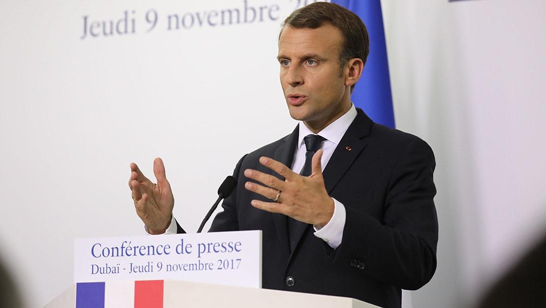 الرئيس الفرنسي يزور السعودية للقاء محمد بن سلمان