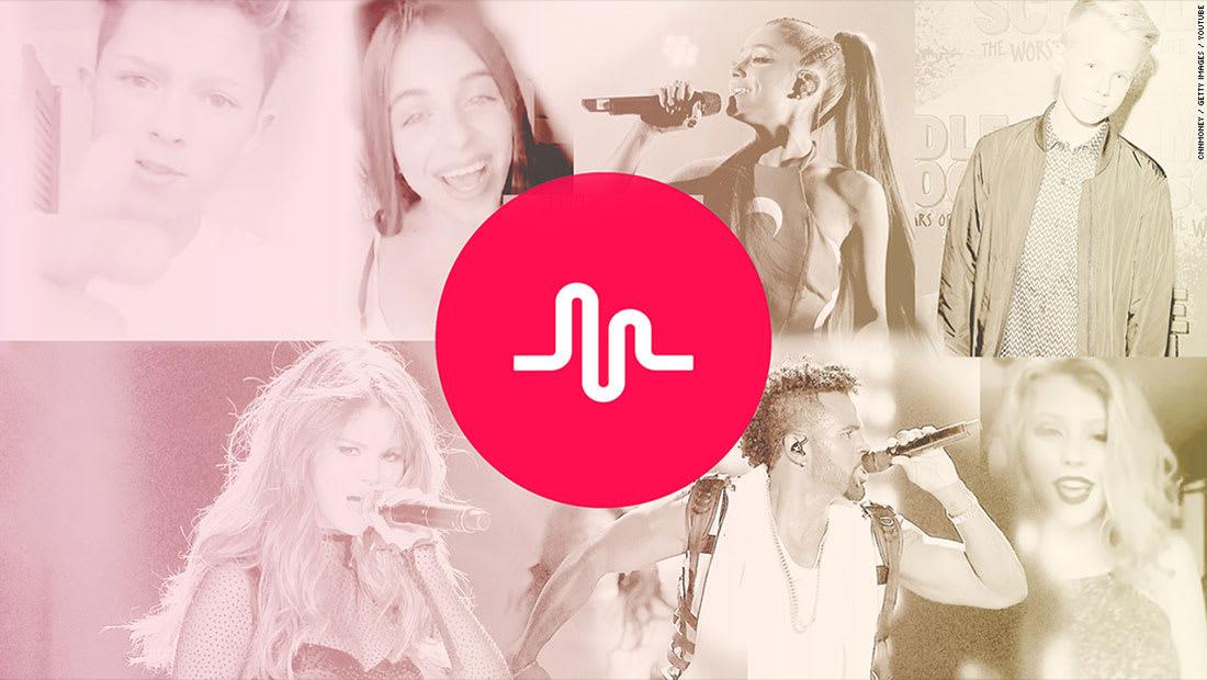 تطبيق صيني شائع يشتري Music.Ly الموسيقية