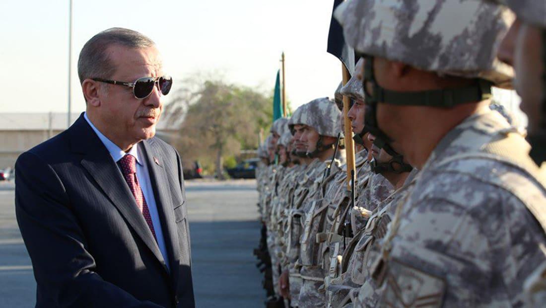 أردوغان يزور القاعدة العسكرية التركية في قطر.. وتميم: لن ننسى وقوفكم معنا خلال الحصار