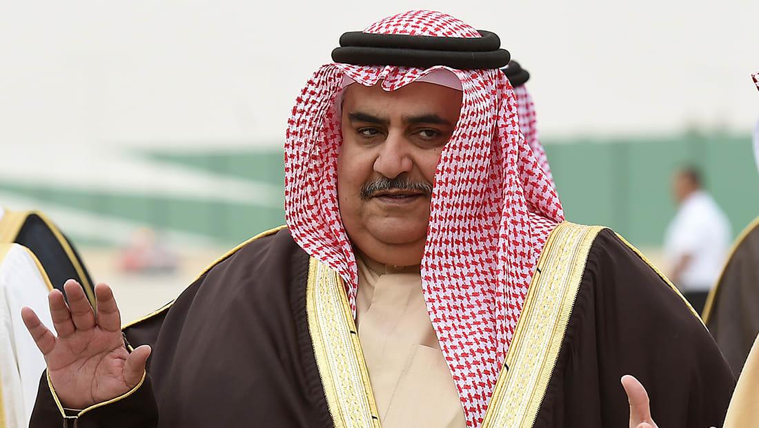 وزير خارجية البحرين: من لا يرى خطر إيران أعمى أو يتعامى