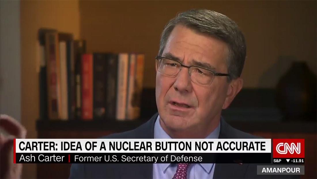 وزير دفاع أمريكا السابق لـCNN: لا يمكن لترامب شن هجوم نووي بضغطة زر كما يُعتقد