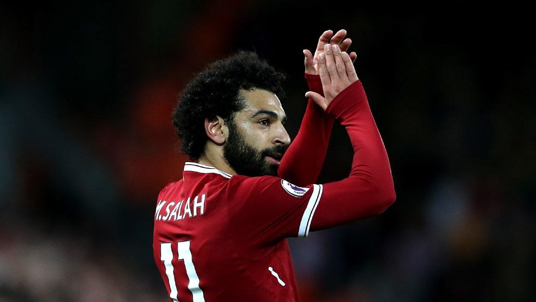 محمد صلاح يتربع على صدارة هدافي الدوري الإنجليزي