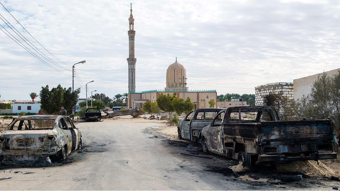 ناج من هجوم الروضة لـCNN: لم يخرج أحد من المسجد