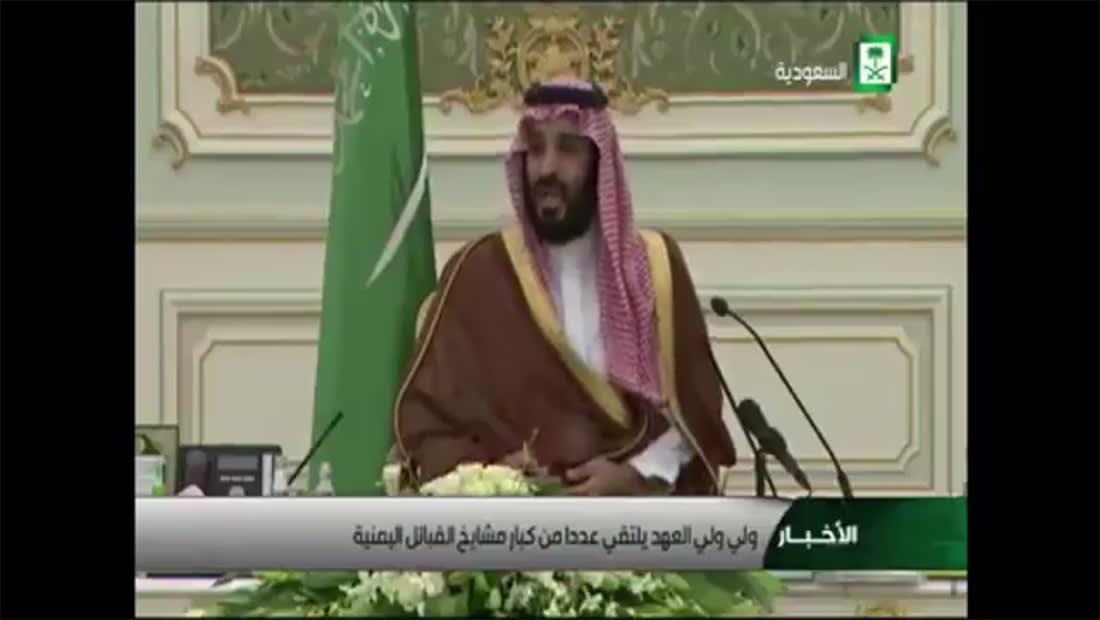 نشطاء يتداولون كلمة سابقة لولي عهد السعودية لشيوخ قبائل يمنية.. وهذا ما قاله