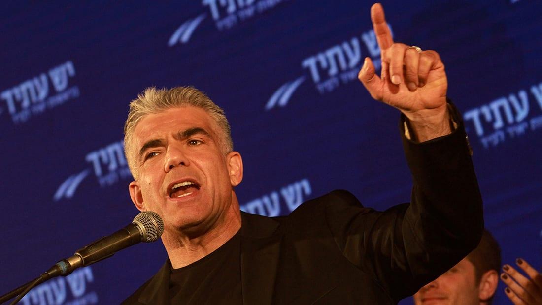 """رئيس حزب """"هناك مستقبل"""" الإسرائيلي لـCNN: القدس عاصمتنا منذ 3000 عام ولم تكن للفلسطينيين أبدا"""