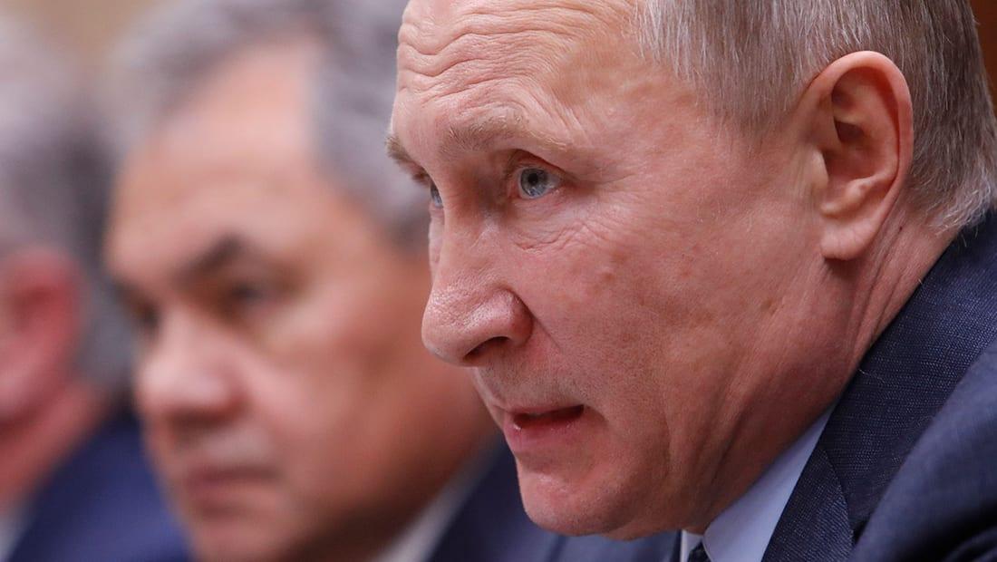 """بوتين يعلن بدء سحب """"جزء كبير"""" للقوات الروسية من سوريا"""