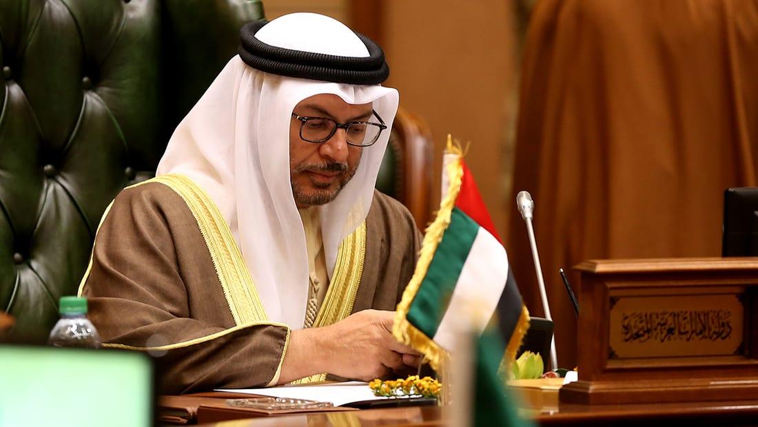 """قرقاش: شراكتنا مع السعودية وجودية ومبدأية وأمامنا فرصة باليمن بعد """"فك"""" ارتباط حزب الإصلاح بالإخوان"""