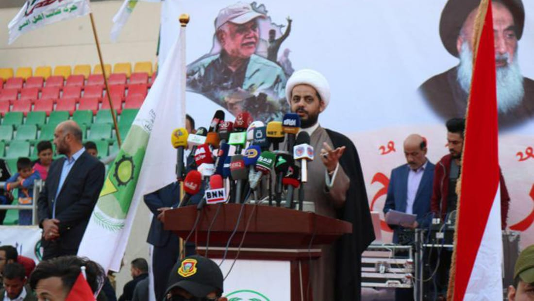 """قيس الخزعلي: النظام السعودي هو """"العدو الثالث"""" للعراق.. ونشكر إيران وحزب الله"""