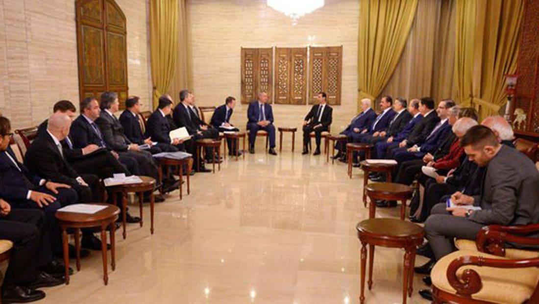 الأسد: من الطبيعي أن تكون روسيا شريكا مهما بإعادة إعمار سوريا