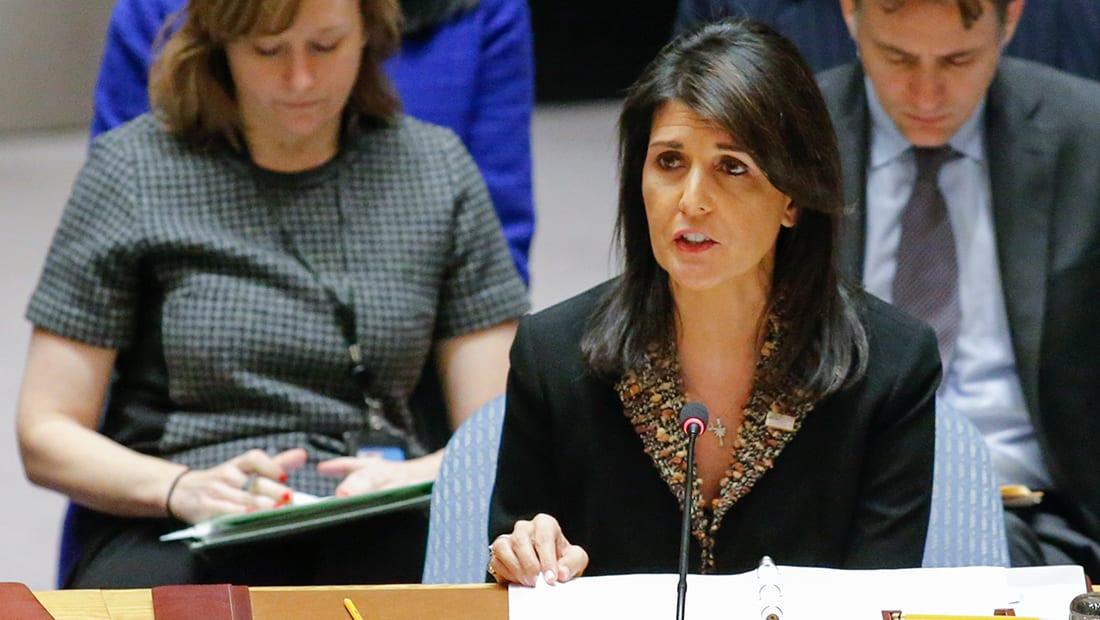 """أمريكا تستخدم حق النقض """"الفيتو"""" ضد مشروع القرار حول القدس بمجلس الأمن"""