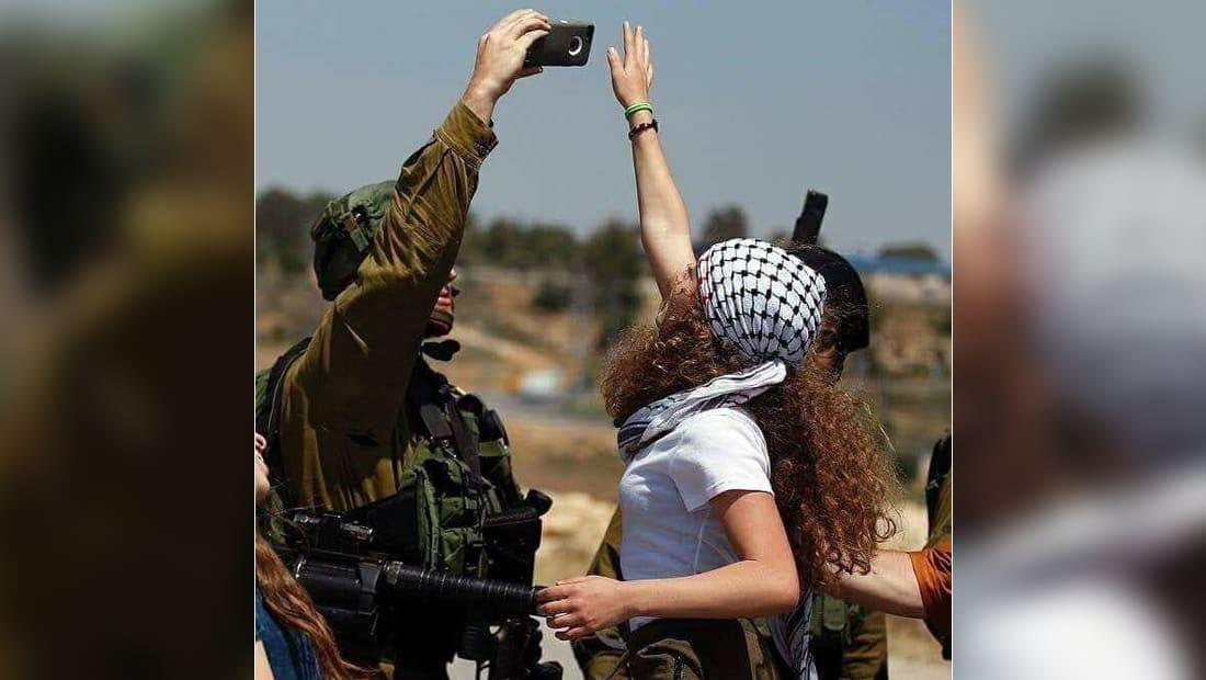 القوات الإسرائيلية تعتقل الناشطة الفلسطينية عهد تميمي