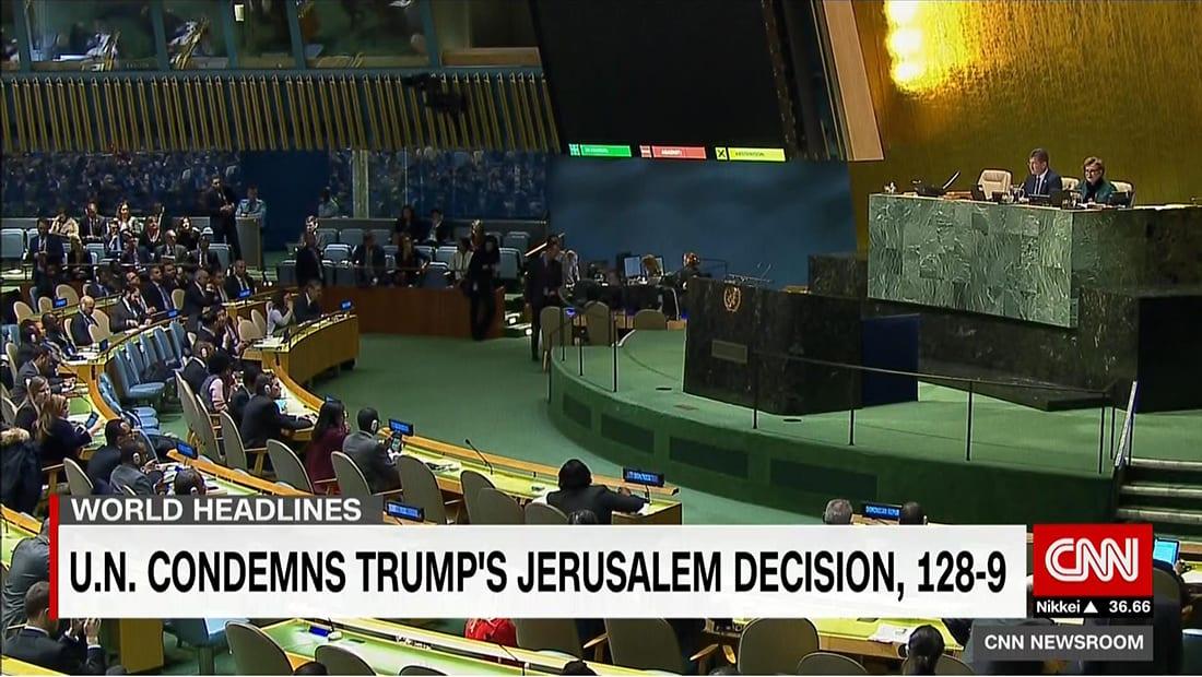 قيادي باتحاد يرأسه القرضاوي عن تصويت القدس: ترامب عزل أمريكا ووقفت معه 8 دول رغم التهديد