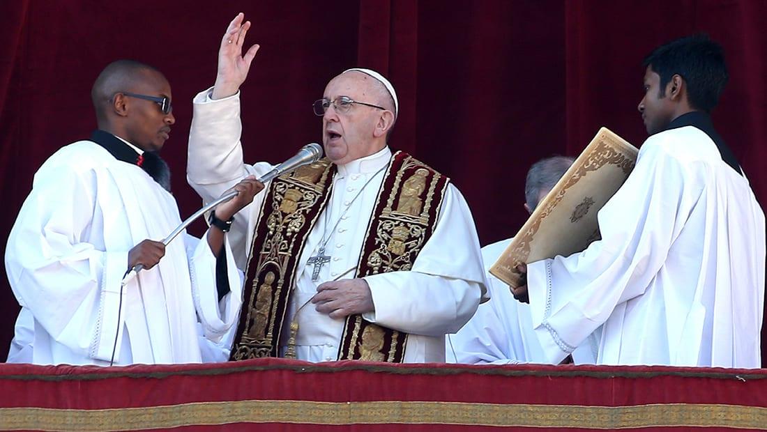 محلل لـCNN: البابا فرانسيس أكد موقف الفاتيكان من القدس بصلاة عيد الميلاد