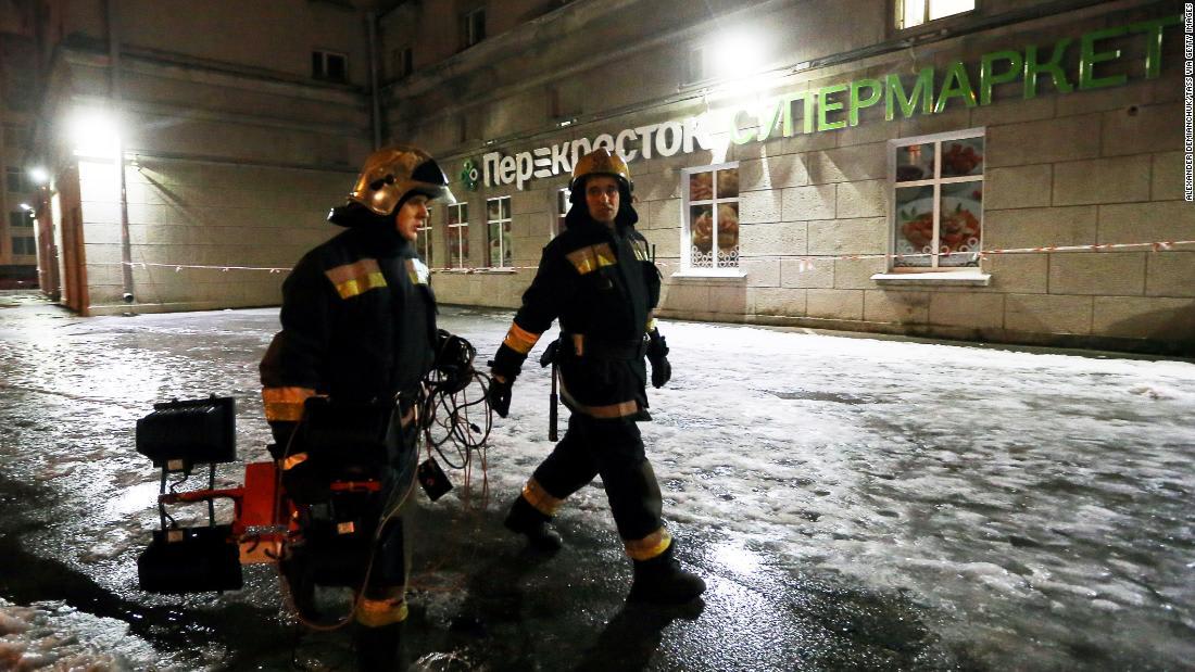 """بوتين: انفجار سان بطرسبرغ """"هجوم انتحاري"""""""