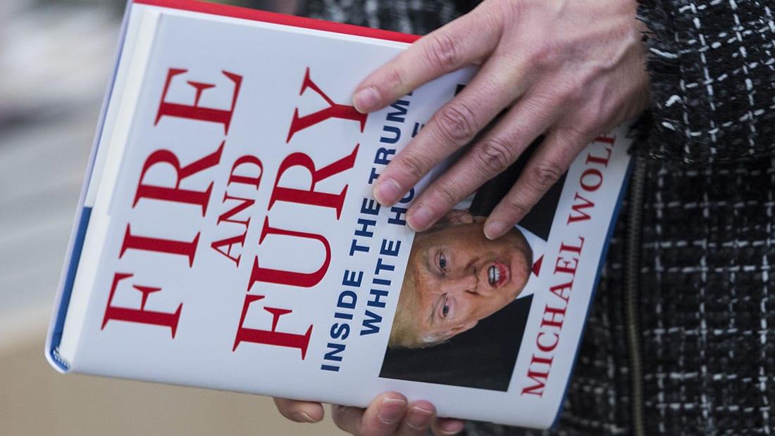 """مؤلف """"النار والغضب"""": كل أسرة ومستشاري ترامب يشككون في قدرته العقلية"""