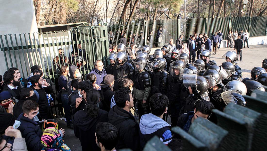 احتجاجات إيران: جامعة طهران تلاحق مصير الطلاب المحتجزين