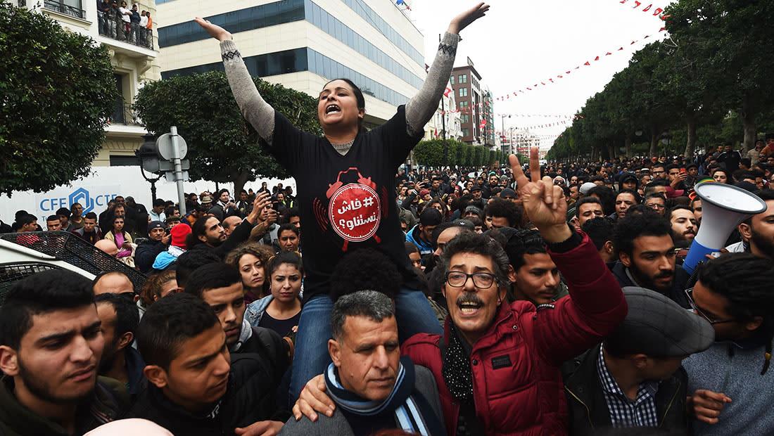 """""""فاش نستناو؟"""" في تونس الجمعة.. وهندة الشناوي لـCNN: تعودنا على شيطنة الاحتجاجات"""