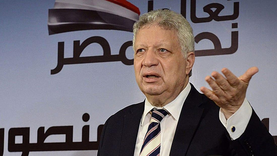 """مرتضى منصور يعلن ترشحه لرئاسة مصر: أول قرار سيكون إلغاء """"فيسبوك"""""""