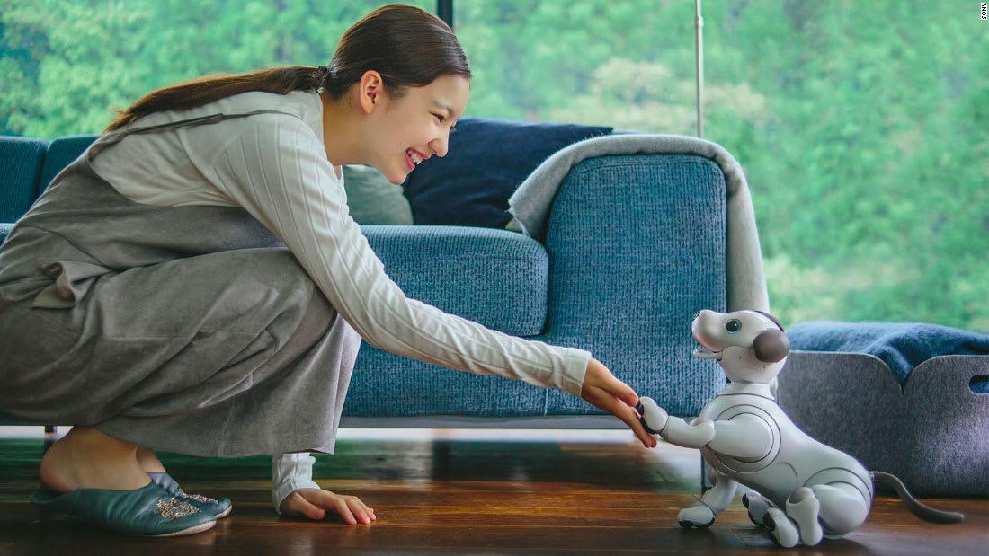"""روبوت """"سوني"""" يتعلّم حركات جديدة"""