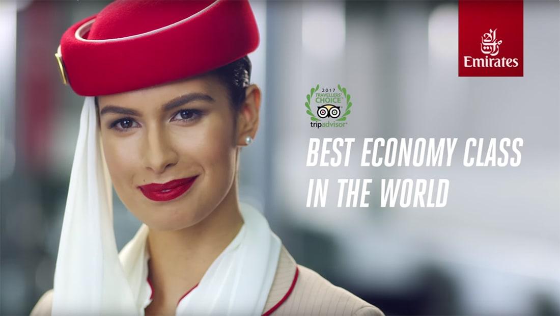 """كيف تحصل على """"ترقية"""" تذكرة سفر.. بحسب طيران الإمارات!"""