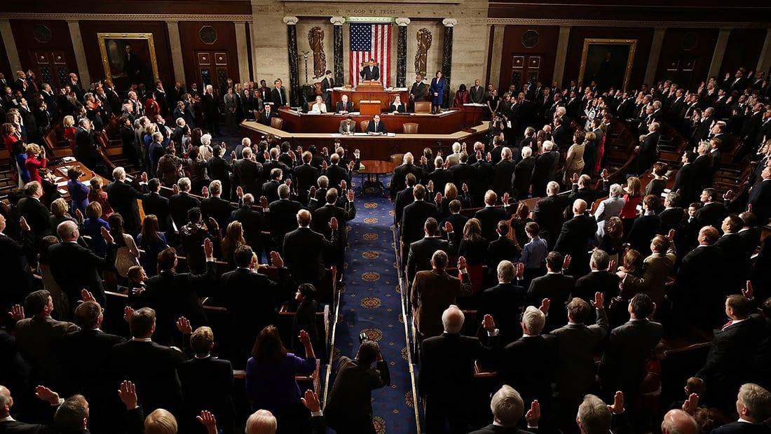 توقف عمل الحكومة الأمريكية بعد فشل الكونغرس بتجاوز أزمة الميزانية