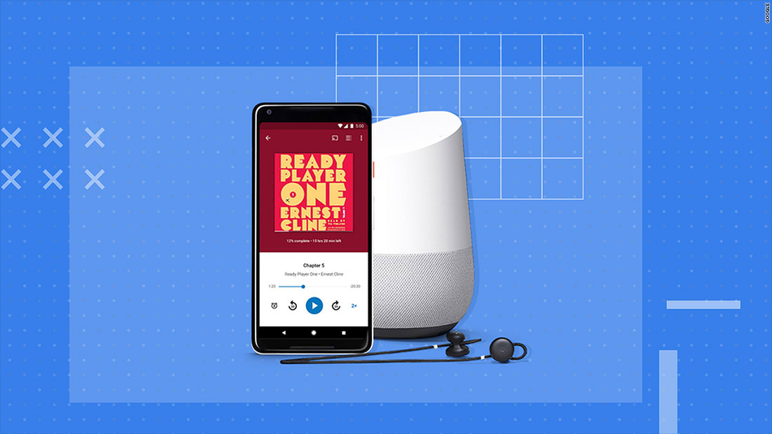 """""""غوغل"""" تطلق خدمة كتب صوتية مجاناً"""