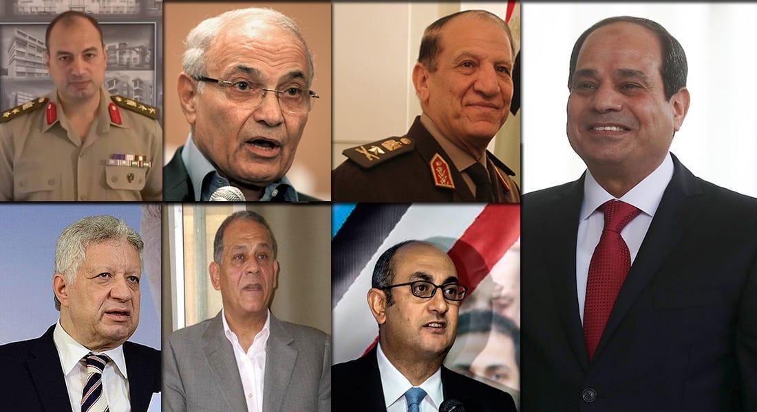 """""""الرئيس المرشح"""".. الطامحون في الرئاسة يتساقطون أمام السيسي"""